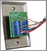 Vga and stereo audio wallplate 325 inches between two mounting holes ccuart Gallery